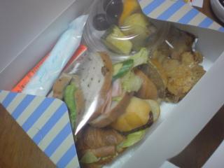 頂き物のサンドイッチセットo(^-^<br />  )o